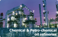 Chemical and petro-chemical oil rafineries